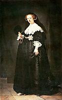 Portrait of Oopjen Coppit, 1634, rembrandt
