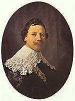 Portrait of Philips Lucasz, 1635, rembrandt