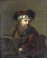 Portrait of a Rabbi, rembrandt