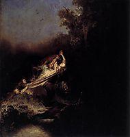 Rape of Proserpina, rembrandt