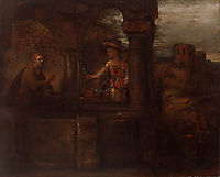 Rembrandt Christ and the Woman of Samaria, 1659, rembrandt