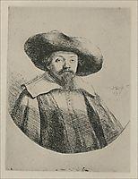 Samuel Menasseh Ben Israel, 1636, rembrandt