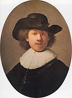 Self-portrait, 1632, rembrandt