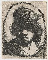 Self-portrait, rembrandt