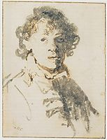 Self-portrait, Open Mouthed, rembrandt