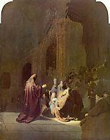 Simeon in the Temple, 1631, rembrandt