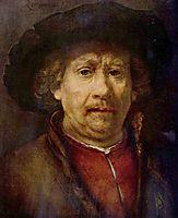 Small Self-portrait, 1655, rembrandt