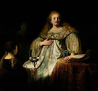 Sophonisba, Receiving the Poisoned Cup, 1634, rembrandt