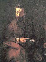 St. Bartholomew, 1657, rembrandt