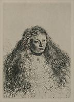 Study of Jewish Bride, rembrandt