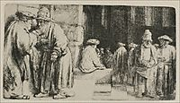 The Synagogue, rembrandt