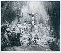 The Three Crosses, 1653, rembrandt