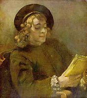 Titus Reading, rembrandt