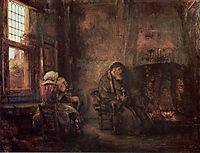 Tobit and Anna, rembrandt