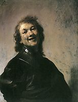 The Young Rembrandt as Democritus the Laughing Philosopher, 1629, rembrandt