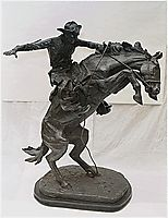 The Broncho Buster, 1909, remington