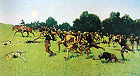 Charge of the Rough Riders at San Juan Hill, 1898, remington
