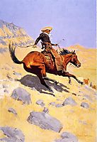 The Cowboy, 1902, remington
