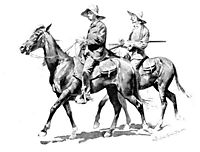 Cracker Cowboys of Florida, 1895, remington