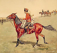 Hussar, Russian Guard Corps, remington