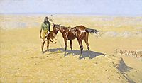 Ridden Down, 1906, remington