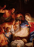 Adoration of the Shepherds, reni