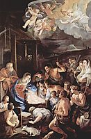 Adoration of the Shepherds, 1642, reni