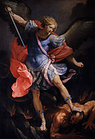 The Archangel Michael defeating Satan, 1635, reni