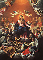 The Coronation of the Virgin, 1626, reni