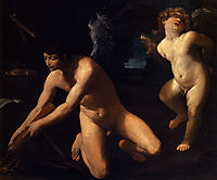 Crowned love and profane Love, 1623, reni