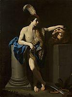 David with the Head of Goliath, c.1605, reni