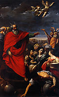 The Gathering of the Manna, 1621, reni