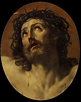 Head of Christ Crowned with Thorns, 1620, reni