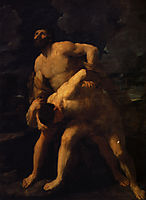 Hercules and Achelous, reni