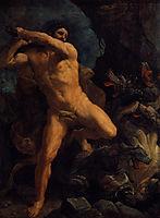 Hercules Vanquishing the Hydra of Lerma, 1620, reni
