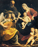 Holy Family, 1642, reni