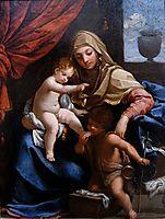 Madonna with Child and St. John the Baptist, c.1606, reni