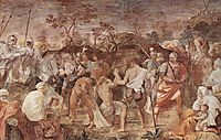 Martyrdom of St. Andrew (introduction to the Crucifixion), c.1608, reni