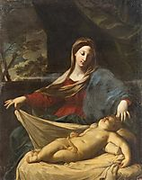 Mary with child, 1635, reni