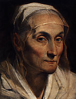 Portrait of old woman, reni