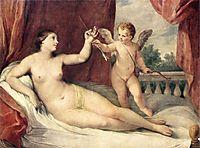 Reclining Venus with Cupid, c.1639, reni