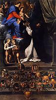 Rosary Madonna, 1598, reni