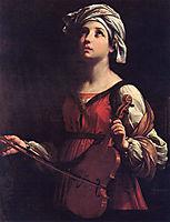 Saint Cecilia, 1606, reni