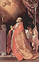 St. Andrew Corsini in prayer, 1635, reni