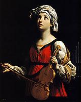St Cecilia, 1606, reni