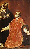 St Filippo Neri in Ecstasy, 1614, reni