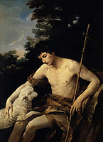 St. John the Baptist in the Wilderness, 1625, reni