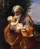 St Joseph with the Infant Jesus, c.1620, reni