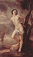 St.Sebastian, 1642, reni