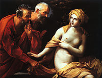 Susanna and the Elders, 1620, reni
